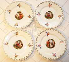 4 db Altwien süteményes tányér