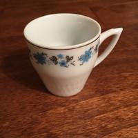 Kínai porcelán mokkás csésze