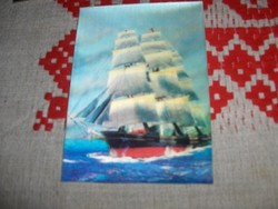 Háromdimenziós képeslap sorozat 3 darab egyben