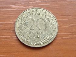FRANCIA 20 CENTIMES 1985