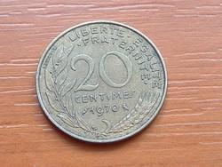 FRANCIA 20 CENTIMES 1970