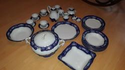 Zsolnay Pompadour II étkészlet és kávés/teáskészlet (6 személyes)