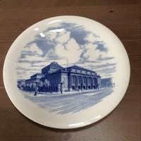 Régi Meisseni porcelán fali tányér