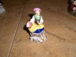 ANTIK ALTWIEN mini porcelán hölgy