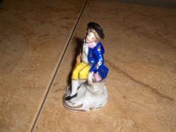 ANTIK ALTWIEN mini porcelán úr