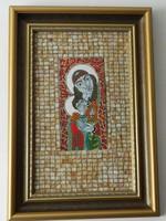 Radnai Zoltán is an enamel. Orthodox Madonna