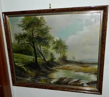 Kvalitásos, jelzett olaj  festmény