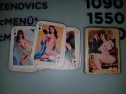 Meztelen nős francia kártya