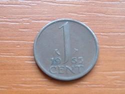 HOLLANDIA 1 CENT 1963