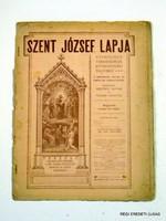 1904 szeptember 1  /  SZENT JÓZSEF LAPJA  /  RÉGI EREDETI MAGYAR ÚJSÁG Szs.:  4263