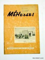 1955 október -  /  MÉHÉSZET  /  RÉGI EREDETI MAGYAR ÚJSÁG Szs.:  4268