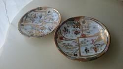 Japán porcelain süteményes tányér (2db)