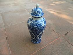 Kobalt festésű Wallendorf urnaváza - urna váza