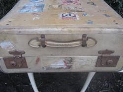 Festőművész parafa bőrönd, ritkaság, nagyon régi. 78 x 55 x 23 cm