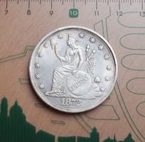 SZÉP USA TRADE ONE DOLLAR 1872