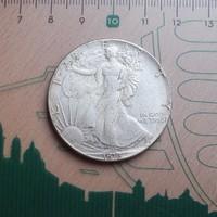 SZÉP USA LIBERTY DOLLAR 1816