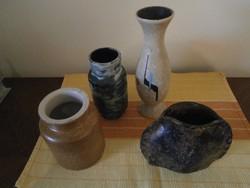 Art deco vázák 4 db együtt kedvező áron eladók