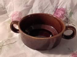 Régi Kispest Gránit leves csésze,bögre