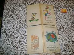 Két darab retro gyermek könyv - 1979, 1984