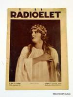 1933 március 10  /  RÁDIÓÉLET  /  RÉGI EREDETI MAGYAR ÚJSÁG Szs.:  4521