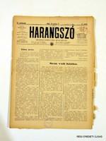 1940 december 8  /  HARANGSZÓ  /  SZÜLETÉSNAPRA RÉGI EREDETI MAGYAR ÚJSÁG Szs.:  4662