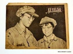 1956 január 27  /  UJ VILÁG  /  RÉGI EREDETI MAGYAR ÚJSÁG Szs.:  4558