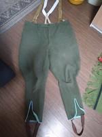 Wermahcth posztó bricsesz tiszti nadrág