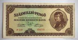 SzázMillió PENGŐ 1946 AU-UNC