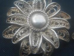Antik ezüst fülbevaló pár..Gyönyörű darab.