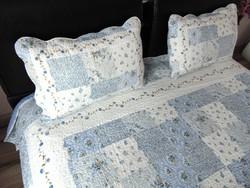 Csodaszép steppelt ágytakaró + párnahuzatok