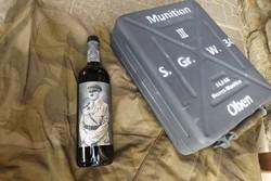 Német birodalmi Hitler emlék bor pecsét jelzett Olaszországból