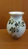 Különleges Zsolnay váza egyedi mintával, hibátlan