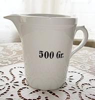 Zsolnay patikai mérőedény 500 gr / 0,5 l -es