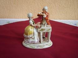 Német barokk zenélő páros