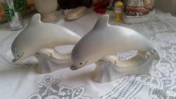 Porcelán delfin pár eladó!