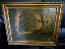 Közepes méretű festmény