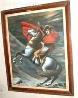LEÁRAZTAM ! Ifj. Hernesz F: lovas vezér (olaj) 1938.
