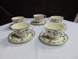 Angol Royal Doulton fajansz teáscsésze + alj / 1400