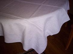 150x120 cm fehér damasztabrosz 21.sz. X