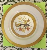 Japán aranyozott tányér