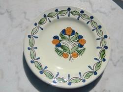 LEÁRAZTAM ! Városlődi népi majolika kerámia fali tányér
