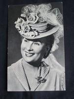 HONTHY HANNA PRIMADONNA FELEJTHETETLEN SZINÉSZNŐ HÜGEL HAJNALKA RITKA 1932 FOTÓLAP FÉNYKÉP KÉPESLAP
