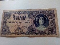 1945-ös 500 Pengő