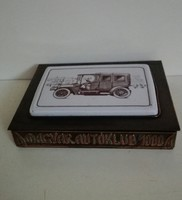 Igazi különlegesség! Régi bronz kártyatartó Gyűjtők figyelmébe ajánlom!