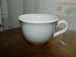 Antik puritán fehér porcelán Wilhelmsburg Made in Austria kávés bögre