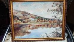 Barcsai Ferenc festmény