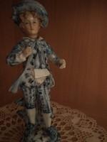 Porcelán figura - igényes kidolgozású