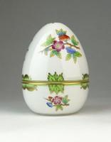 0Q427 Viktória mintás Herendi porcelán tojás