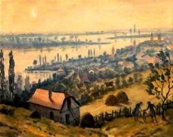 Conrád Gyula : Szentendre 1951