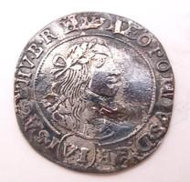 I. Lipót VI krajcár 1668 KB